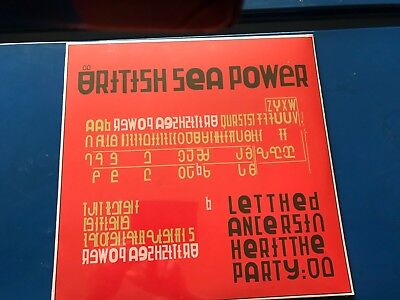BRITISH SEA POWER - VINYL LP LET THE DANCERS INHERIT THE PARTY