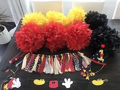 Mickey Birthday Decorations (Mickey Mouse Birthday)
