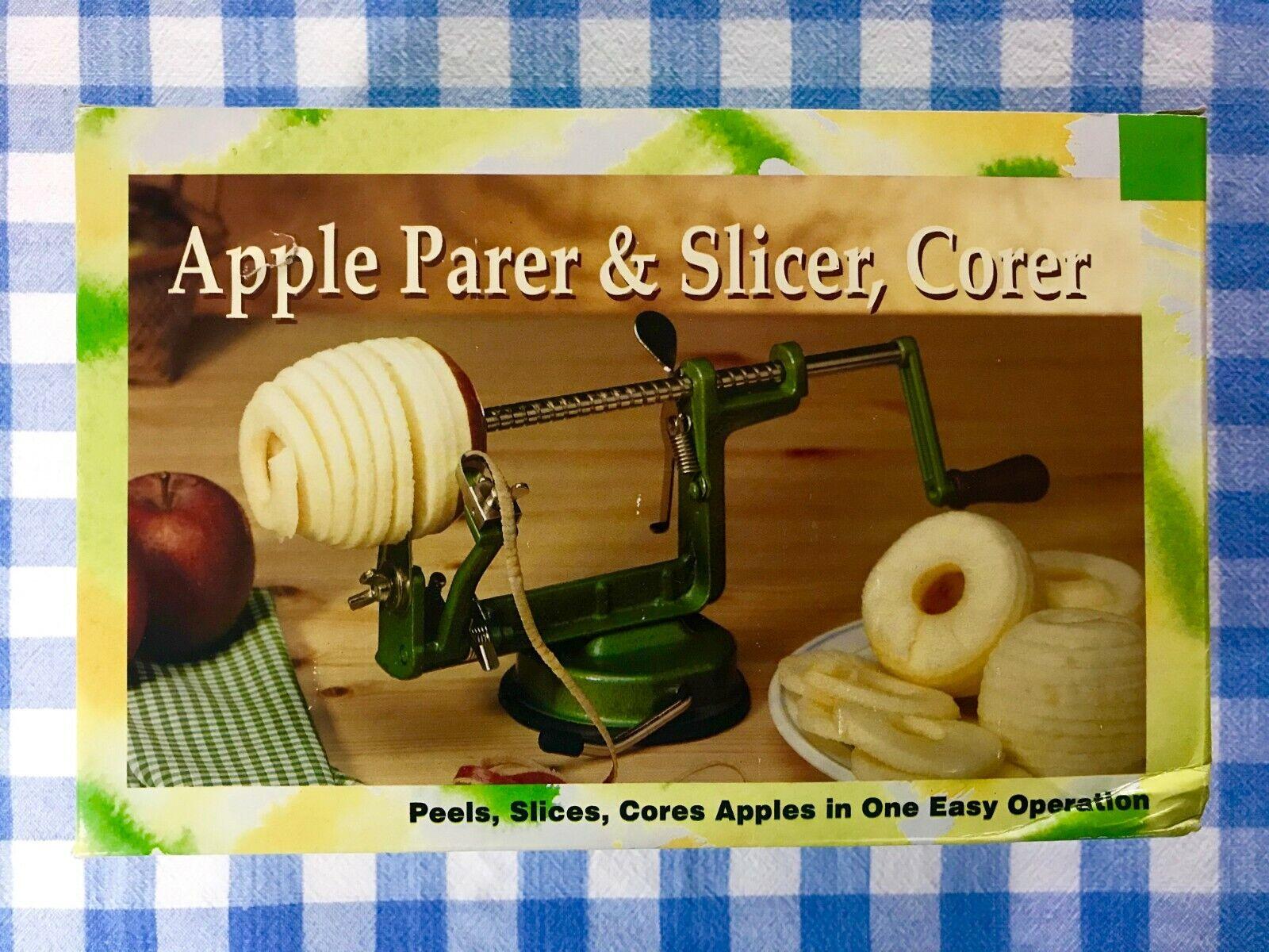 apple peeler corer slicer with suction base