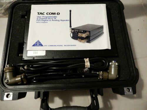 DTC Communications TAC/COM-D-2 & TAC/COM-100 Tactical Repeater Transmitter