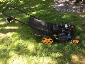 SOLD Craftsman Lawn Mower  NEW PRICE $200