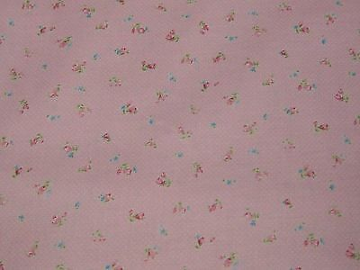SHABBY CHIC-Mad MEMORIES(Pink Roses) ,100% Cotton, by the Yard!