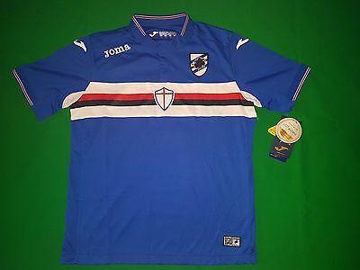 Sampdoria Genua Trikot Home 2015/16 Joma Größe L -NEU-