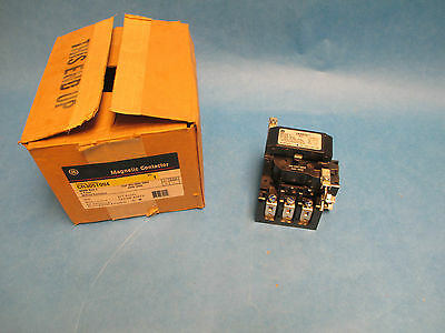 GE Magnetic Contactor CR305T004, Size 2 4P 440-480V Coil, New Surplus