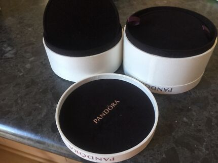 Pandora ring Jewellery boxes  2 in total