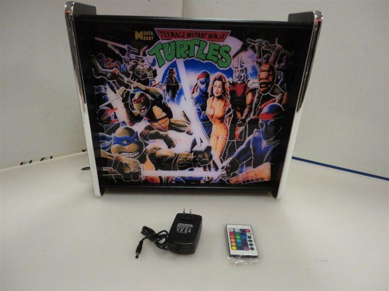 Teenage Mutant Ninja Turtles Data East Pinball Head LED Display light box
