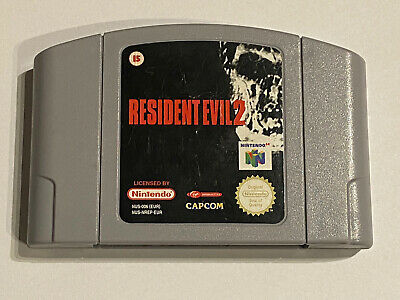 Nintendo - N64 - Cart - Resident Evil 2 - Fast Postage! Classic Game!