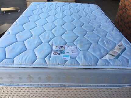 FREE DELIVERY QUEEN SIZE MATTRESS AND BASE IN GOOD CONDITION