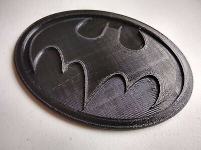 Batman Returns Logo Chest Emblem Cosplay Michael Keaton