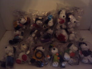 MCDONALDS - THE MANY LIVES OF SNOOPY - FIGURES FULL SET OF 16 BRAND NEW IN PACKA
