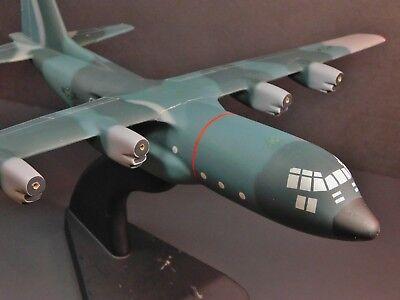 Lockheed C-130 Hercules Wooden Mahogany Desktop Model Project