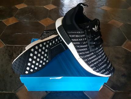 Adidas Originals - NMD R1 Blackouts - Size 10 ½