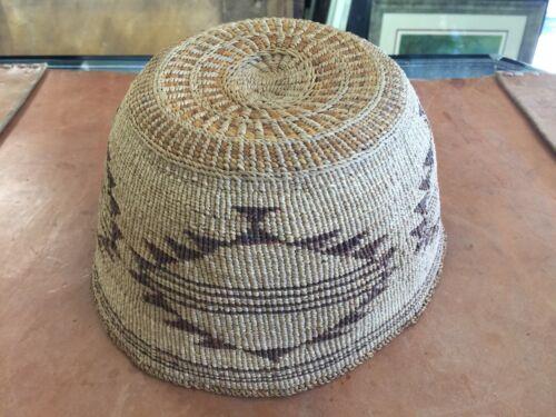 Antique Kalmath / Modoc Basketry Hat