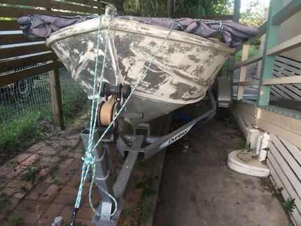 Wanted: 14 & 1/2 ft tinny with a mercury 30hp outboard motor