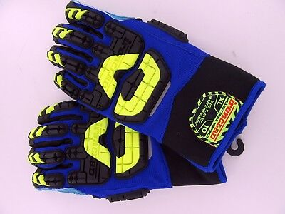 New - Size Xl - Ironclad Vibram Insulated Waterproof Work Gloves Vib-iwp-o5-xl