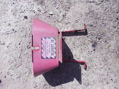 Farmall A B 100 130 140 200 230 C Sc Sa Tractor Ih Pto Shield W- Belt Pulley