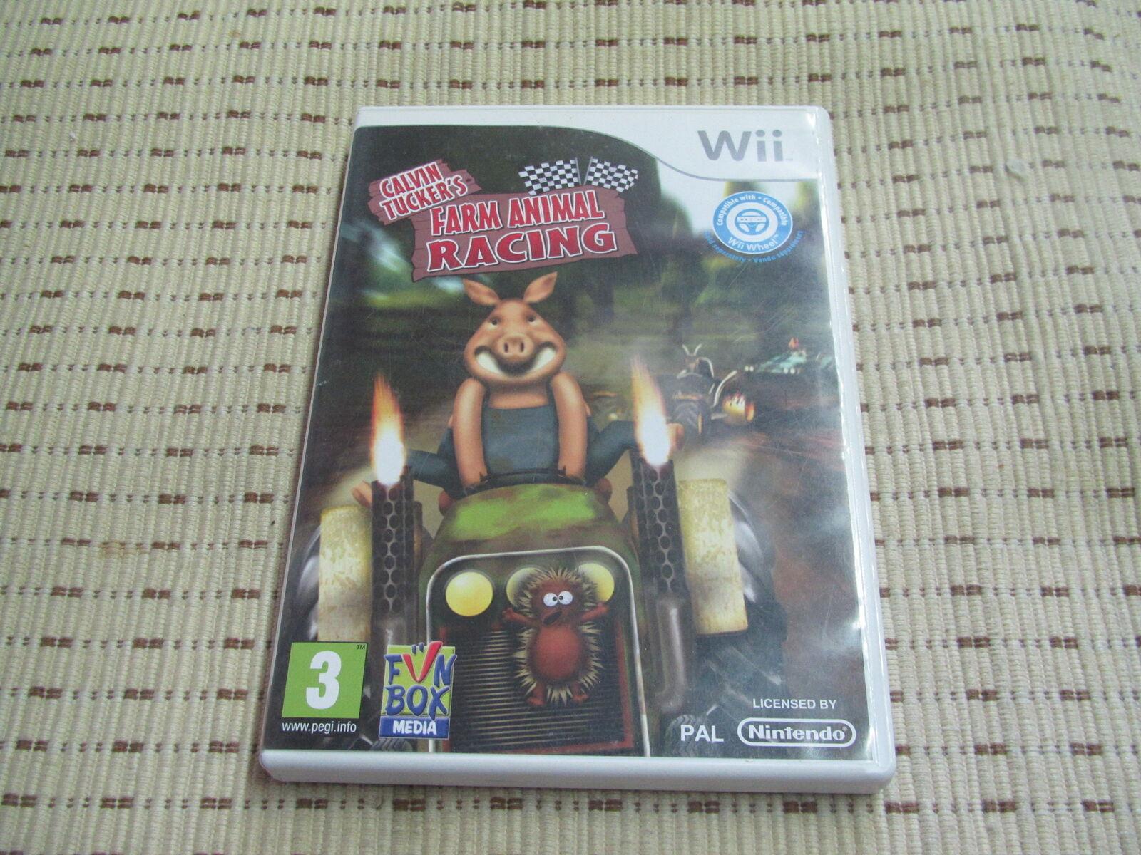 Calvin Tucker´s Farm Animal Racing für Nintendo Wii und Wii U *OVP*