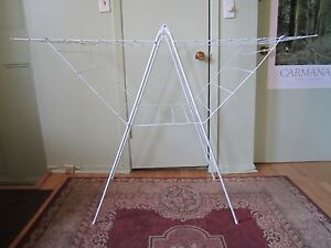 Indoor / Outdoor clothes laundry drying rack