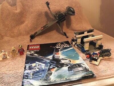 LEGO 7180 Star Wars B-Wing At Rebel Control Center 99.9%Complete W/ Instructions