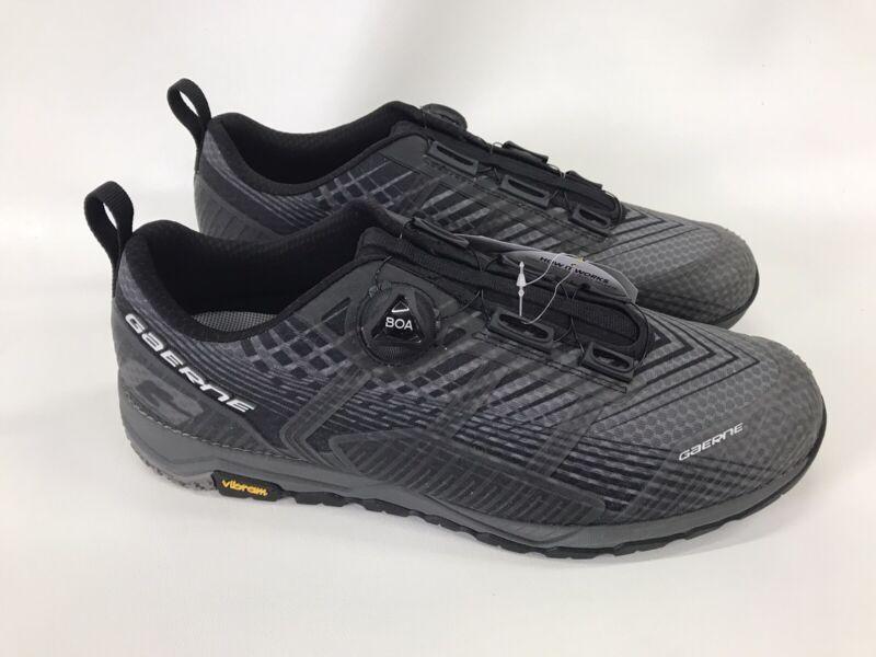 Gaerne G Taser Grey/Black Cycling MTB E Bike Bicycle Shoes Size 46 US 11