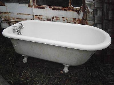 Antique Vintage Claw Foot Tub 5 ft - Super Clean