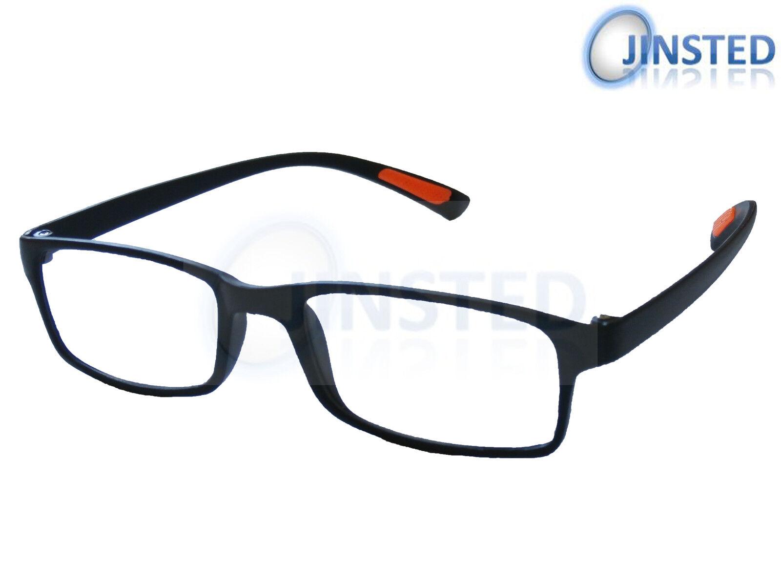 Black Lightweight Stylish Reading Glasses Specs Spectacles Unisex Readers RG007