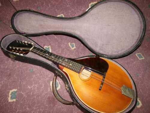 Vintage 1915 Gibson Mandolin model A all orig incl intact pickguard + OHC VG++