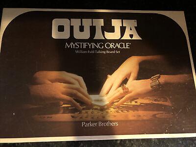 Original Box Quija Board Mystifying Oracle Parker Brothers Halloween Spirit 1972