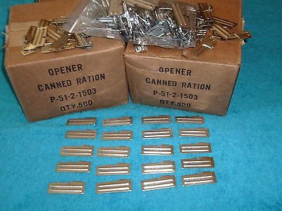 P-51 Military Can Openers 20 Piece Made by US Shelby CO - Camping - Hunting Gear