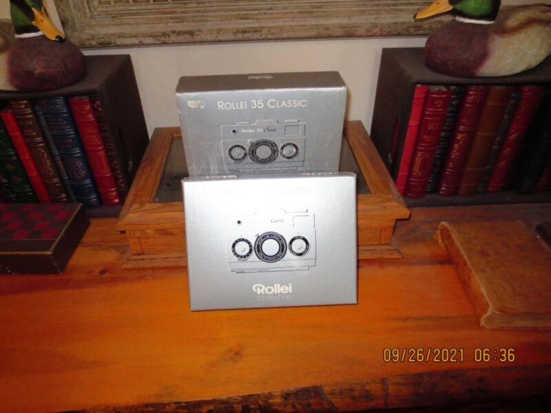 Mint Unused Rollei 35 Classic Titan #59671 In Box