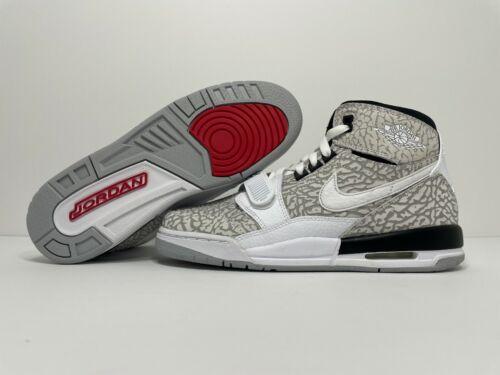 NEW Nike Air Jordan Legacy 312 (GS) AT4040-100 Youth Size 7Y Elephant Print