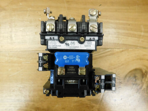Allen Bradley 123172 Dc Contactor 115v 50/60hz Used Csq