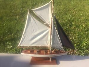Authentic model yacht Mount Warrigal Shellharbour Area Preview
