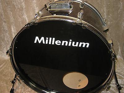 "22"" Bassdrum ""Millenium"" Trommel Schlagzeug Drumset Fantrommel Percussion rot"