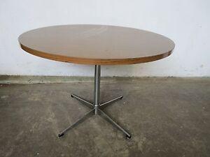 C49057 Round Retro Chrome Pedestal Kitchen Dining Table Mount Barker Mount Barker Area Preview