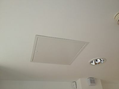 Picture frame panels come with a 25mm frame for easy installation into an existing wall or ceiling