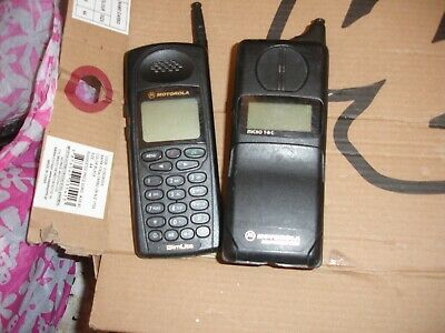 old used MOTOROLA 5200 AND SLIM LITE