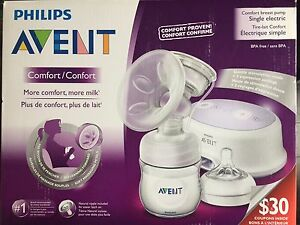 Philips Avent Breast Pump, Nursing Pads & 24mm Nipple Shield