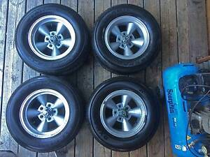 Alloy wheels+tyres to fit late pattern VH - CM Valiant & Charger McCrae Mornington Peninsula Preview