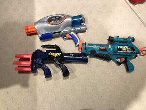 Vintage nerf guns