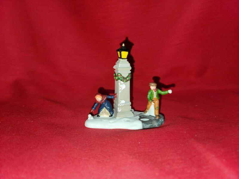"Department 56 Dickens Village ""Snowball Fun"" Figurine #58812"