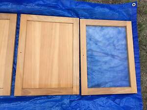 Cabinet Doors Glass/Timber (IKEA) Forest Glen Maroochydore Area Preview