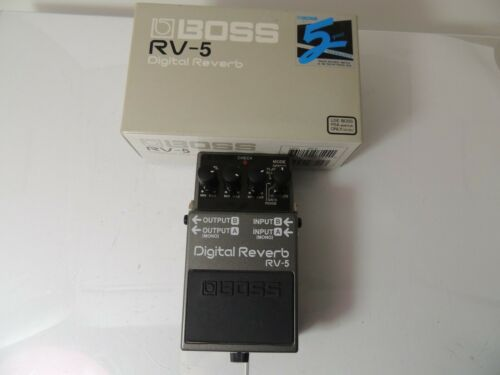 Boss RV-5 Digital Reverb Effects Pedal Free USA Shipping