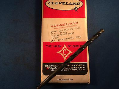 New Cleveland Twist Drill 1964 6 Oal Hss Twist Drill 10-pack
