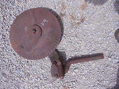John Deere Jd Plow 18 Rolling Cutter Wheel Disc Disk Mounting Brace Bracket