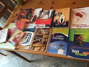 11 livres de recettes Mincavi