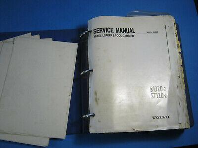 Volvo Sl120-2 St120-2 Wheel Loader Tool Carrier Service Manual 2091 00950