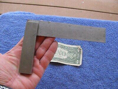 Darling Brown Sharpe 6 Steel Square Old Antique Toolmaker Tool