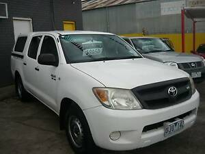 2006 Toyota Hilux D/Cab - Finance or (*Rent-to-Own $78pw) Dandenong Greater Dandenong Preview
