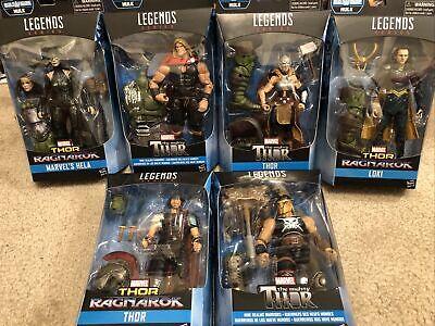 Lot 6 Marvel Legends Thor Ragnarok Wave Gladiator Hulk BAF Complete.New!